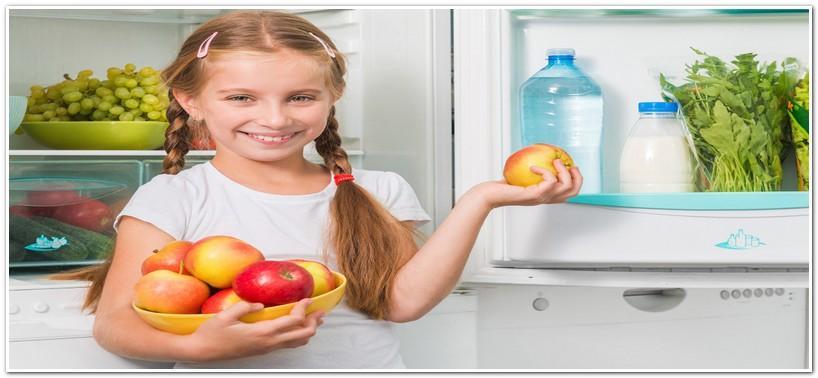 Яблоки из холодильника